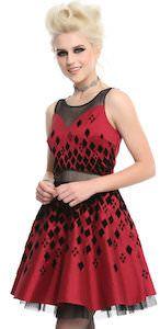 Harley Quinn Inspired Formal Dress