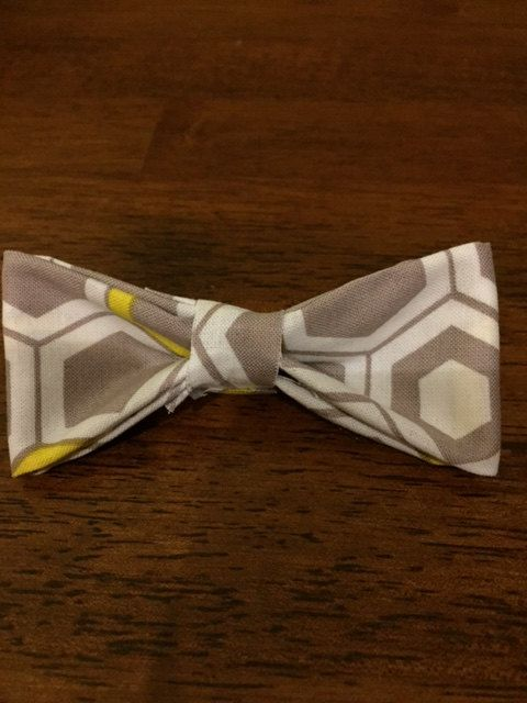 Cheveron bow tie, great spring colours with classy look! $10.00 order now!