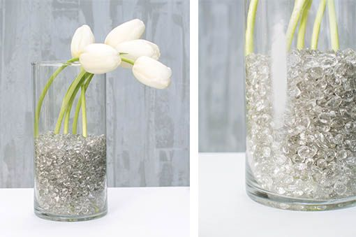 Decorative Glass Pebbles For Vases