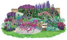 Ein Traum in Purpur und Silber - Stauden   Blumengarten - Gartenpraxis - Mein…