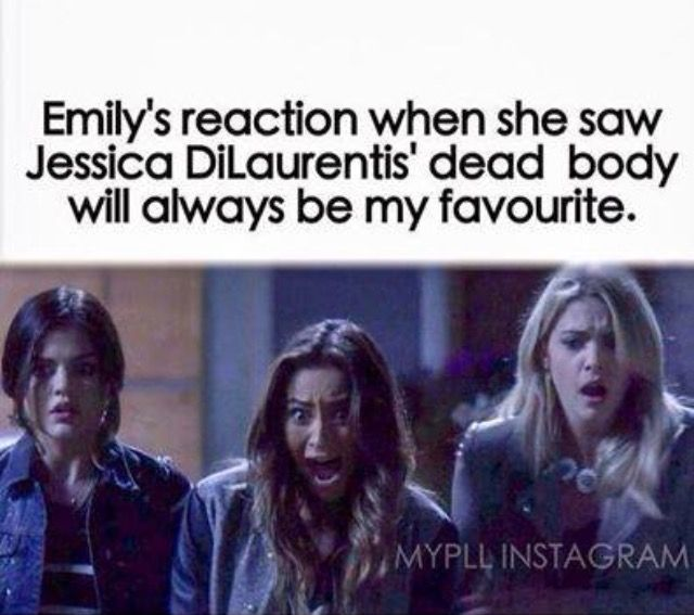 I've only just realised how hilarious Emily's reaction was!!