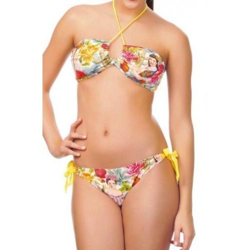 Gençlere özel straplez bikini