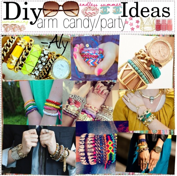 """""""Diy arm candy/party ideas"""" by the-tip-girls-of-neverland on Polyvore"""