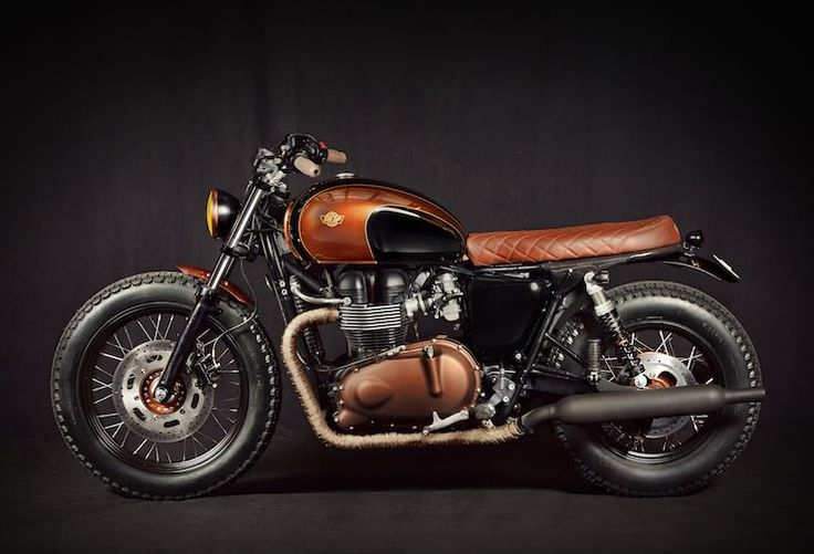 triumph bonneville efi 4 Triumph Bonneville Custom by Ton Up Garage