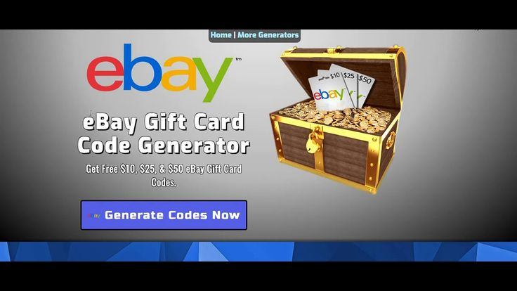 How to get ebay gift card coupons code 2020 ebay gift