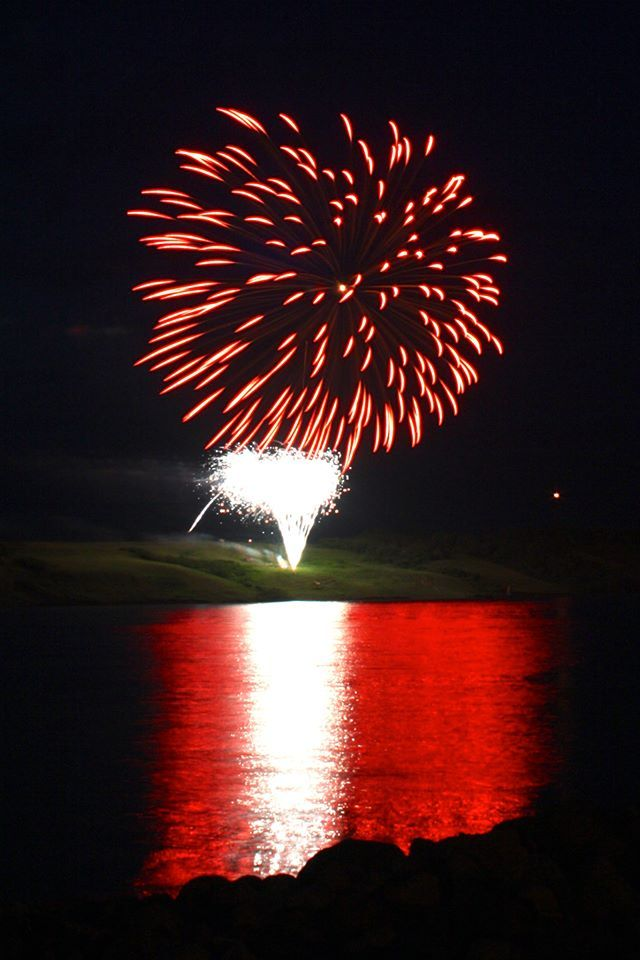 Canada Day - Fireworks on the lake