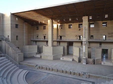 Teatro Romano di Sagunto, Valencia Spain   Giorgio Grassi and Manuel Portaceli