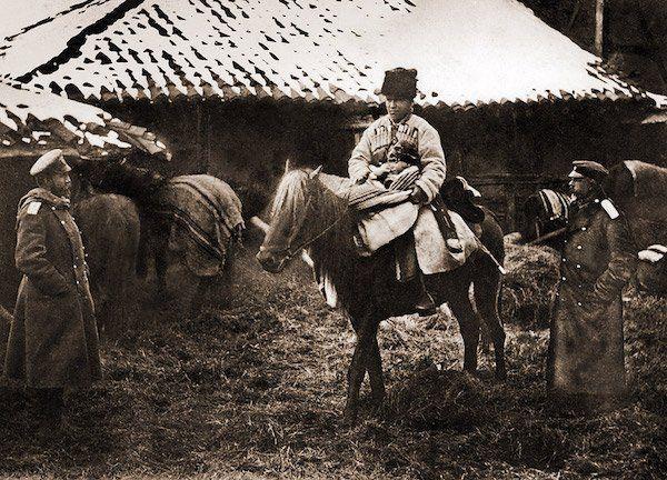 Русские казаки. Русско-Турецкая война. 1877-78
