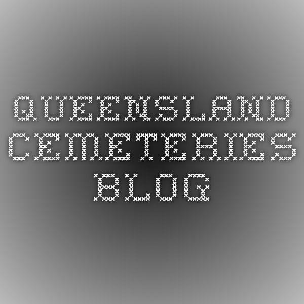 Queensland cemeteries Blog