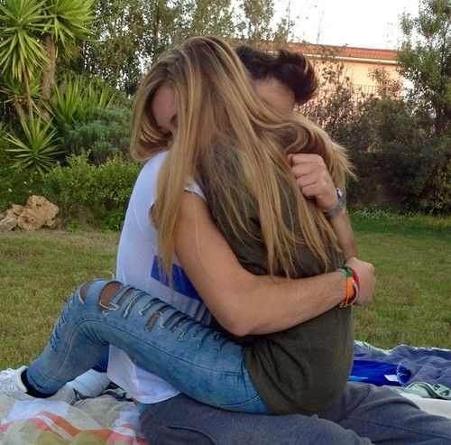 Elegant romance, cute couple, relationship goals, prom, kiss, love, tumblr, grunge, hipster, aesthetic, boyfriend, girlfriend, teen couple, young love, hug image  / Pinterest: @riddhisinghal6