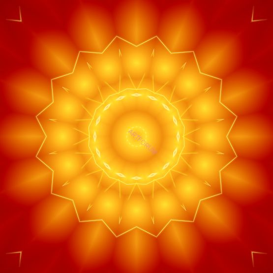 Mandala životní energie
