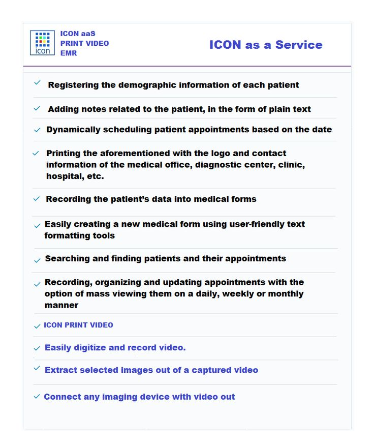 #ICON as a Service #EMR & Print Video
