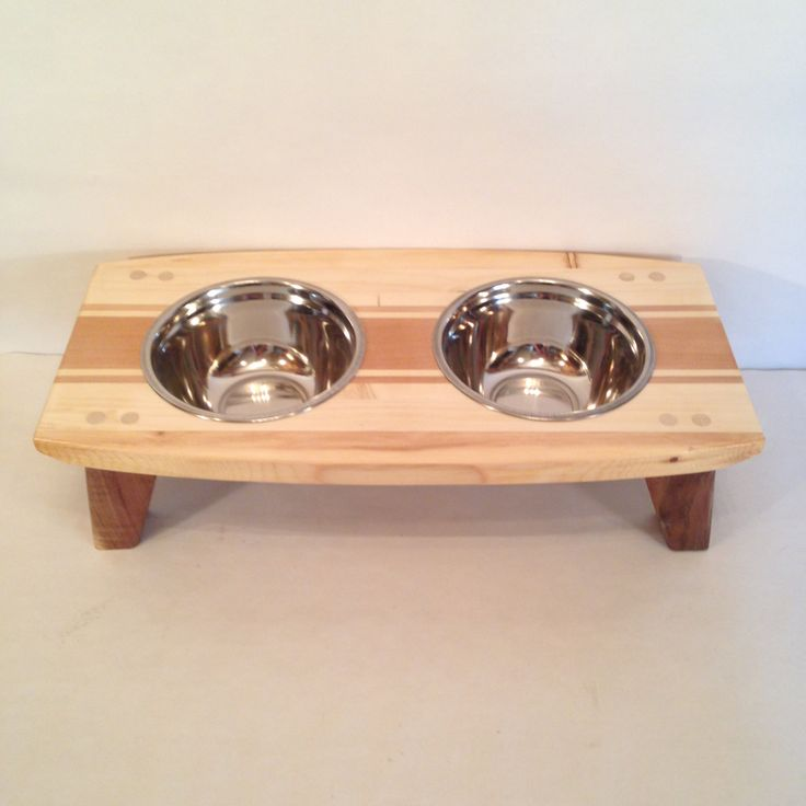 Designer Pet Dining Table by HGJoinery on Etsy