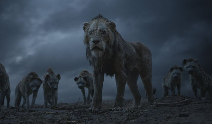 Simba Goes Head-to-Head With Scar in a Wild New Clip From The Lion King