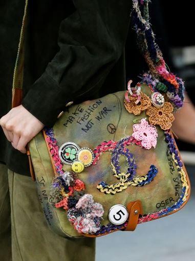borse Chanel primavera estate 2015 tessuto