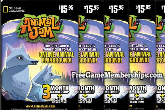 Free Animal Jam Membership Codes  #AnimalJam http://gazettereview.com/2016/06/free-animal-jam-membership-codes-guide/