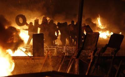 Ukraina: Rozejm zerwany, ciąg dalszy walk, jest kolejna ofiara [RELACJA Z PIĄTKU]