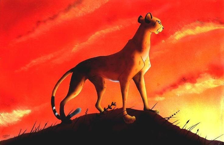 Lion King Cheetah | The Lion King Fan Art | Pinterest ...
