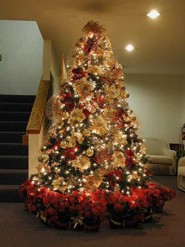 Decorating Modern Home Interior Ideas Brown And Gold Christmas Decorations  Swedish Christmas Decorations Red And Gold Christmas Tree Decorating Ideas  Modern ...