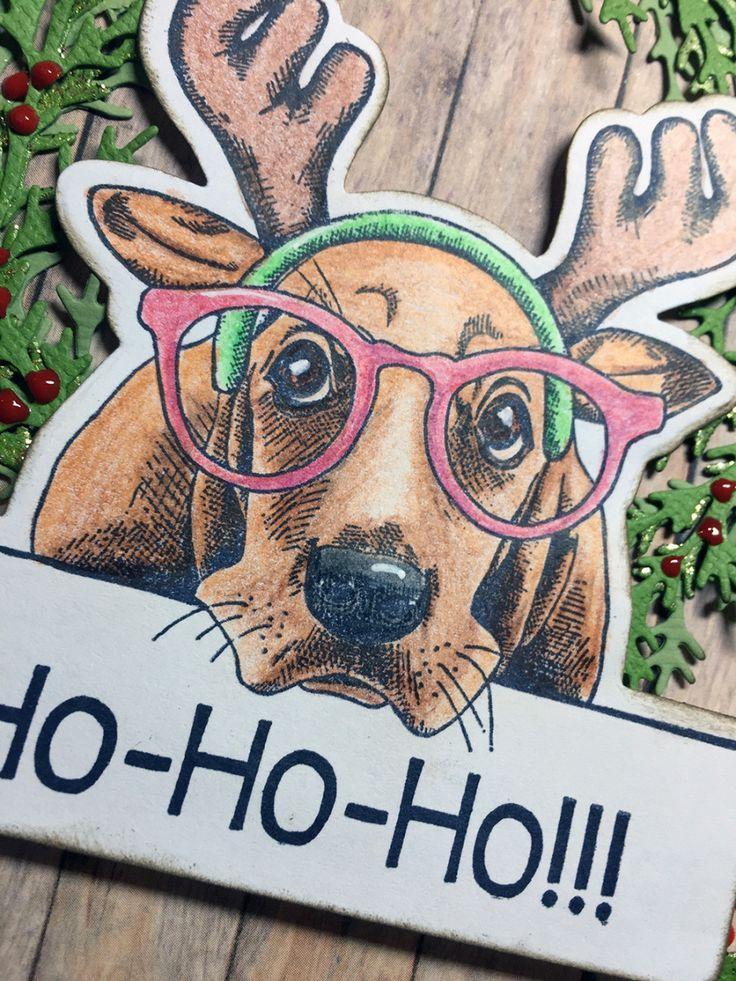 Hurra! Julekort med hund på:)
