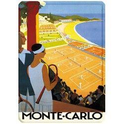 Courts de tennis - Monte-Carlo