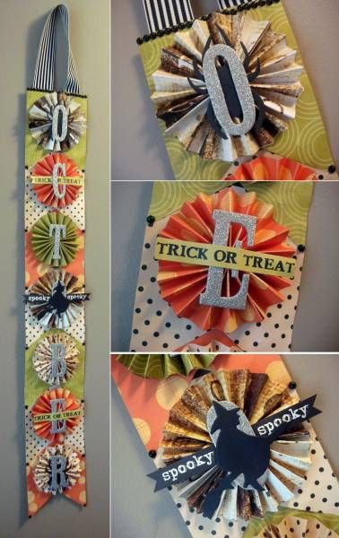 Halloween Banner by stephzerbe - Cards and Paper Crafts at Splitcoaststampers