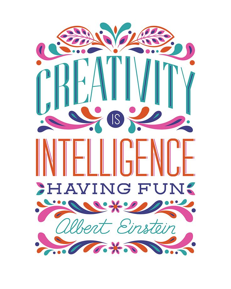 Creativity is intelligence having fun   free printable BasicGrey