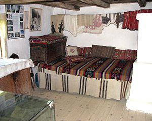 Inside traditional house from Oltenia.