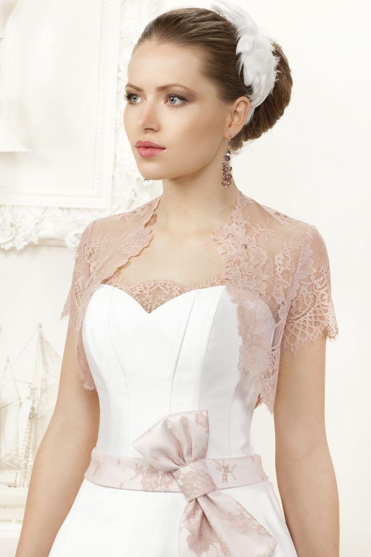 Trochę koloru w Sukniach Ślubnych FULARA&ŻYWCZYK z poprzednich kolekcji