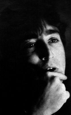 John Lennon--beautiful photo.
