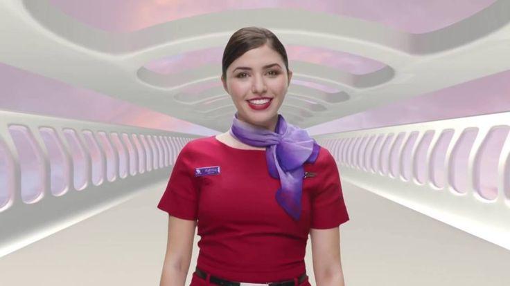 Virgin Australia Updated A330 safety video