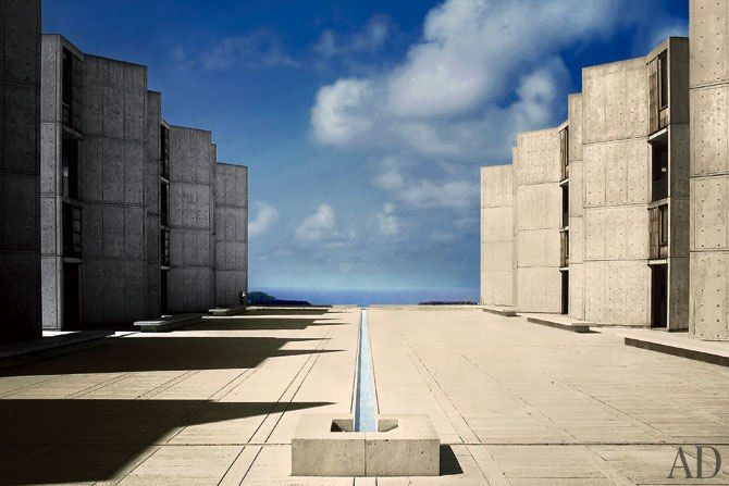 Louis I. Kahn's Salk Institute Remains a Modernist Beacon : Architectural Digest