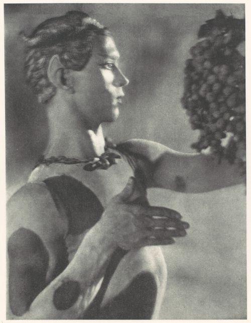L'Après-midi d'un Faune - Nijinsky 1912. Artist: Adolf de Meyer (American, Paris 1868–1949 Los Angeles, California)