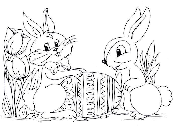 1001 Schone Osterbilder Zum Ausmalen Fur Kinder Malvorlage Hase Malvorlagen Ostern Ostereier Farben