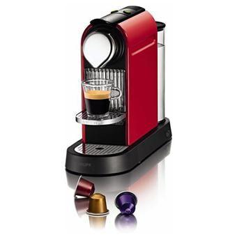 Expresso à capsules Nespresso Kurps Citiz - Rouge Flamme