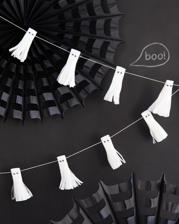 Ghost Tassel Garland | Oh Happy Day!