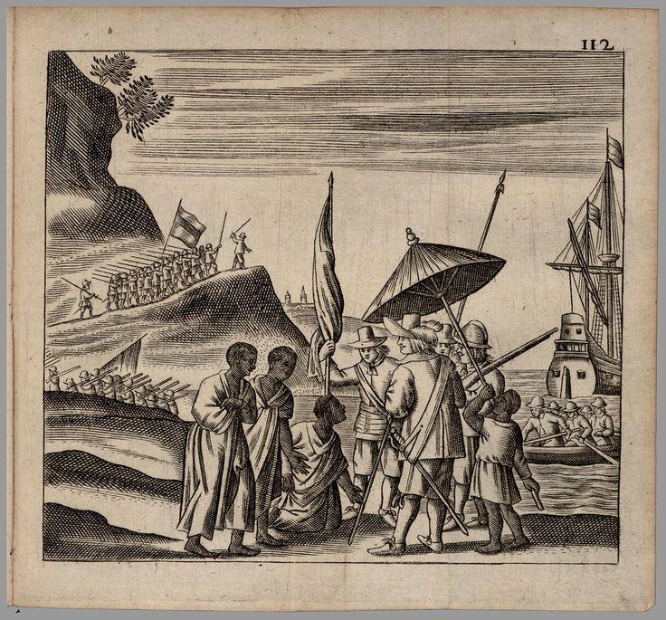 Onderwerping van de Ihamau op Honomoa (Saparoea),  Suppression of the Ihamau of Honomoa (Saparua)