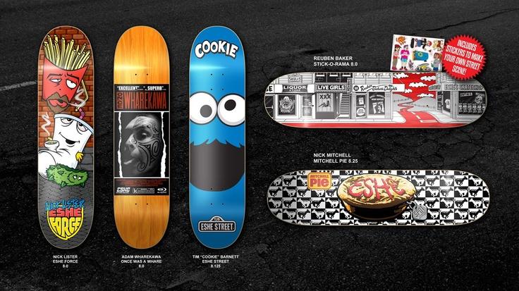 New Boards from ESHE Skateboards