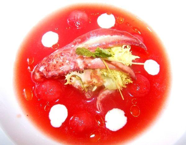 gazpacho melone pomodoro Gualtiero Marchesi