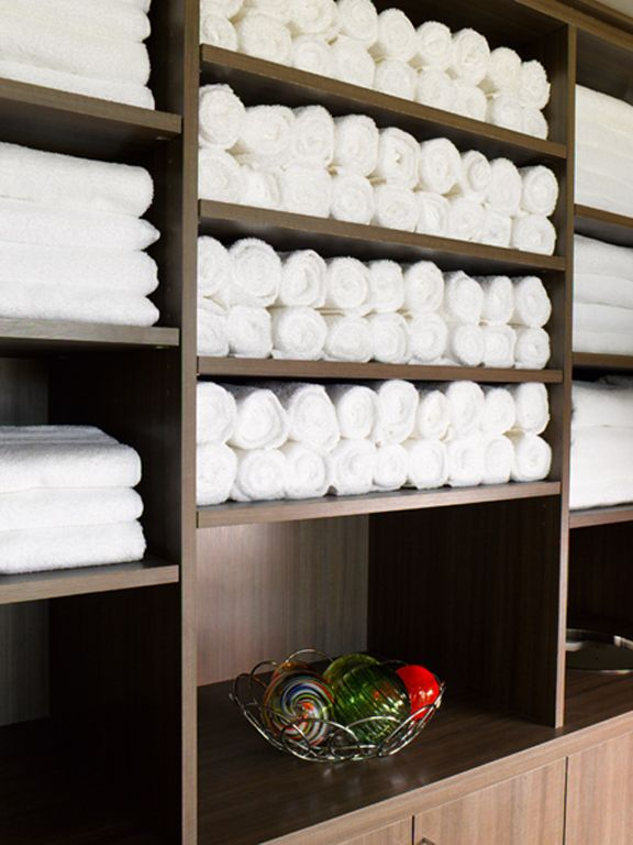 The details make the experience at Hive including cool eucalyptus & lavender refresh towels that add the finishing touch to a workout well done.