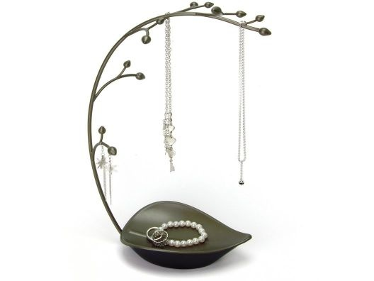 Really like this...diy? Umbra Orchid Metal Jewelry Tree 38 X 12.5 X