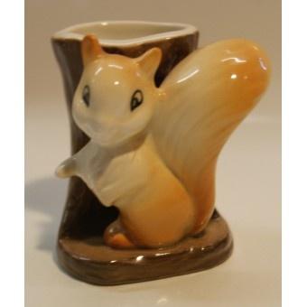 Vintage China Hornsea Squirrel Posey Vase £6.95