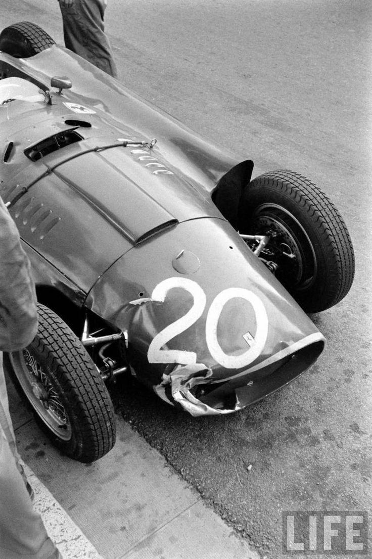 29 best f1 1956 images on pinterest ferrari f1 life magazine fangios and castellottis lancia ferrari d50 lancia ds50 2488 cc 152 vanachro Gallery