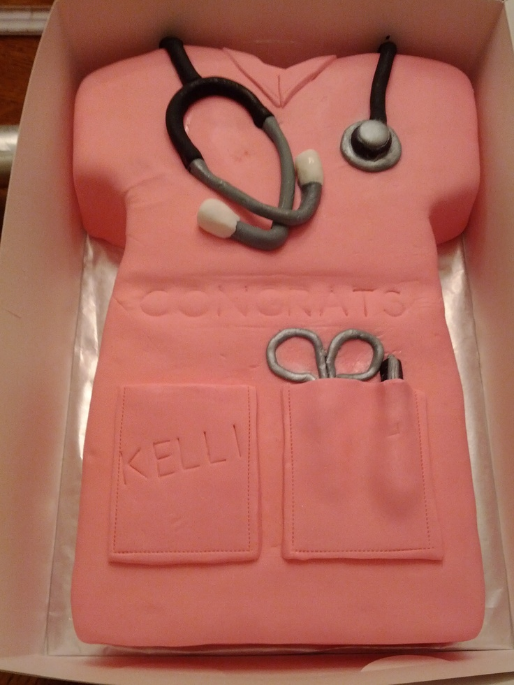 The perfect birthday cake for a fellow nurse!