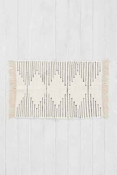 Plum & Bow Connected Stripe Rug - Urban Outfitters ($24)