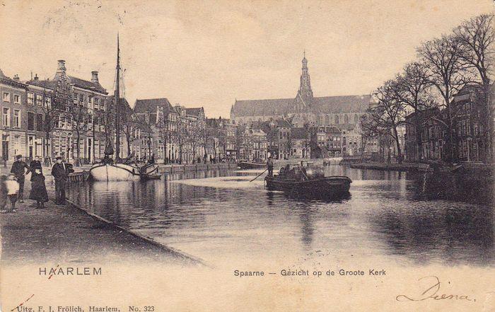 Haarlem 16x - oude stadsgezichten(E)