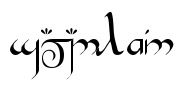 Rune Generator: type your name and see it written in Dwarf Runes! (or Elvish) This was so cool!!!  I saw my name and my kids' names in Elvish, they were beautiful and now i need to print them!!!