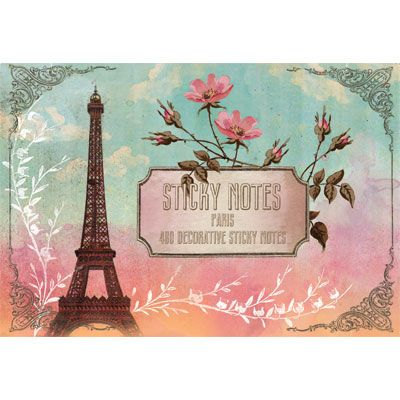 Paris Sticky Notes