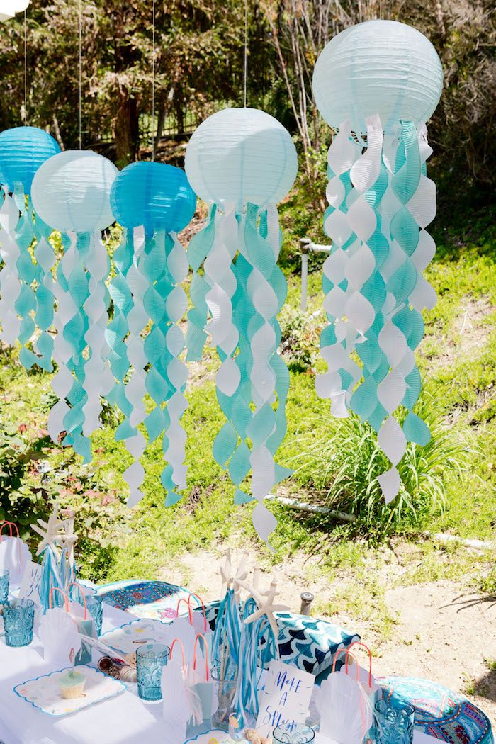 Make a Splash Mermaid Birthday Party