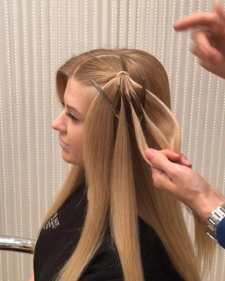 Прическа шляпка из волос новую работу девушка москва